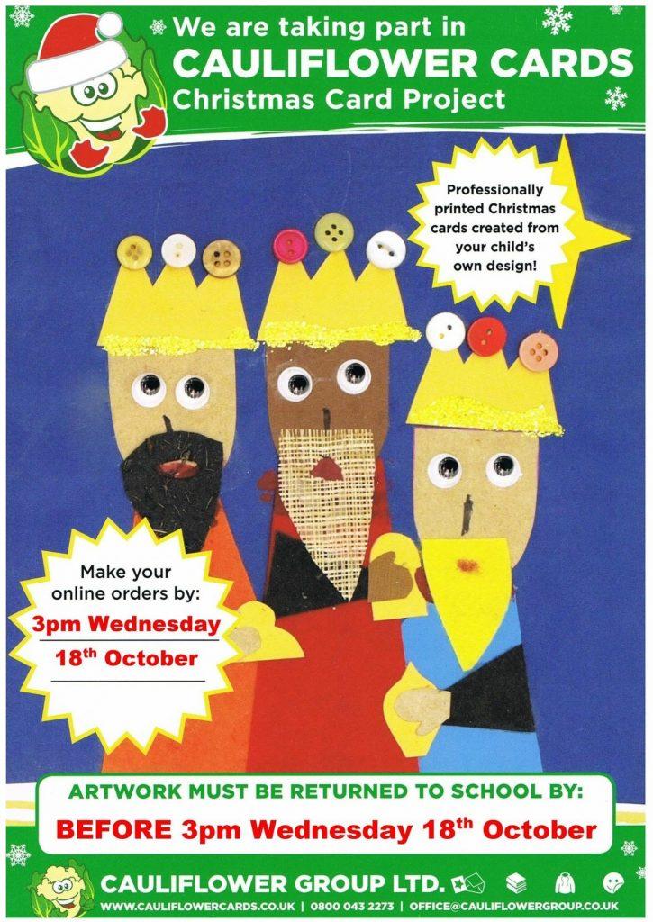 Cauliflower Cards - Wootton Community Primary SchoolWootton ...